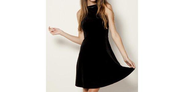 Dámské černé šaty bez rukávů Tantra