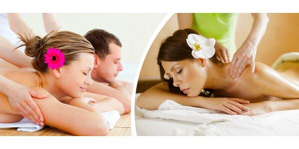Kurzy tantricko-relaxační masáže pro páry nebo ženy