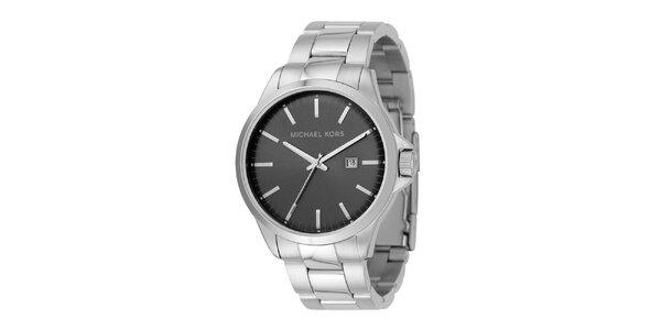 Pánské ocelové hodinky s datumovkou Michael Kors