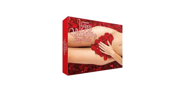 HAPPY VALENTINE LOVE BOX - 9dílna souprava