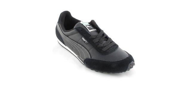 Pánské černé tenisky Puma