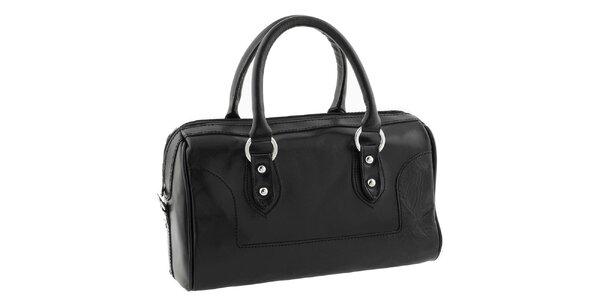 Dámská černá kufříková kabelka Classe Regina