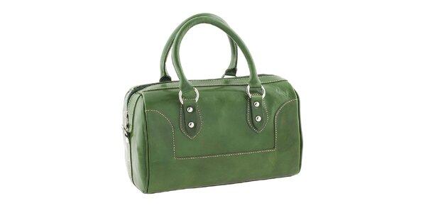 Dámská zelená kufříková kabelka Classe Regina