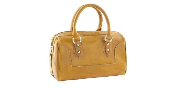 Dámská žlutá kufříková kabelka Classe Regina