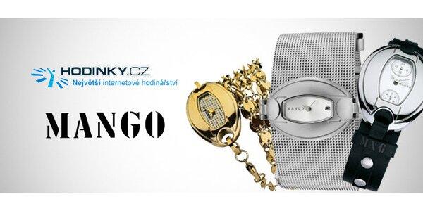 Elegantní dámské hodinky Mango dle vašeho vkusu 5c213fea33