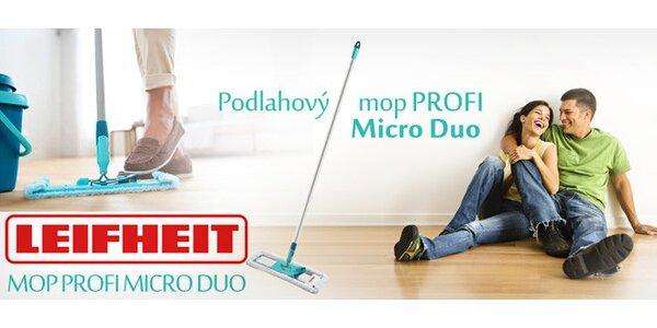 Kvalitní podlahový mop Leifheit s poštovným v ceně