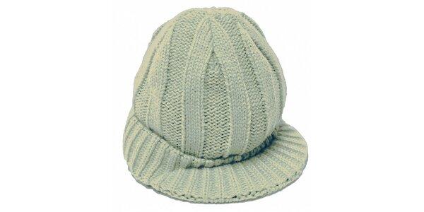 Dámská zelená čepice Fundango s kšiltem
