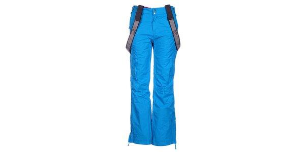 Dámské modré lyžařské kalhoty Fundango s membránou