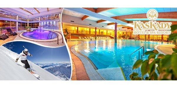 Exkluzivní wellness pobyt v lázeňském Hotelu Kaskády****