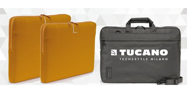 Stylová barevná pouzdra na notebook Tucano