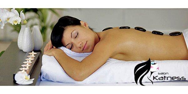 Masáž Lávovými kameny v délce 60 minut