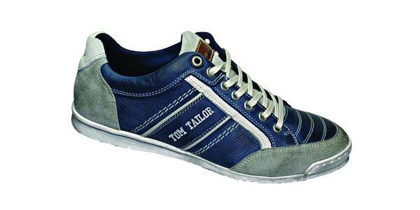 Pánské modro-šedé tenisky Tom Tailor