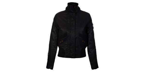 Dámská černá zimní bunda Gas