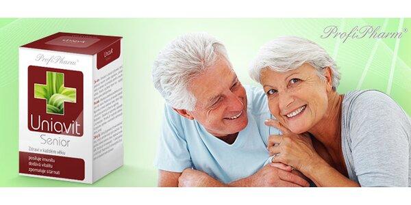 Balíčky vitamínů pro seniory na 2 nebo 6 měsíců