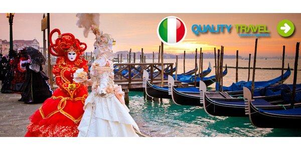 Zájezd na benátský karneval s noclehem pro 1 osobu
