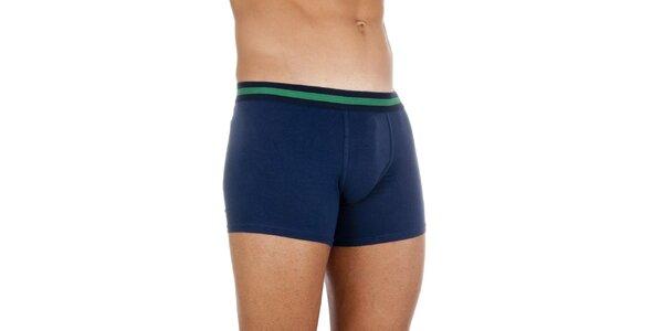 Temně modré boxerky Ralph Lauren