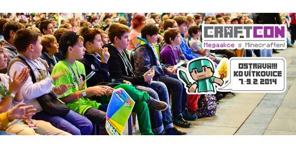 CraftCon 2014 - setkání příznivců hry Minecraft