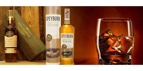 Výborná whisky palírny Speyburn a Glengoyne