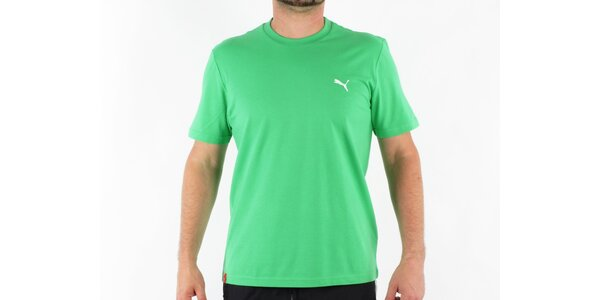 Pánské zelené tričko Puma