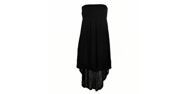 Dámské černé šaty a sukně v jednom Pussy Deluxe
