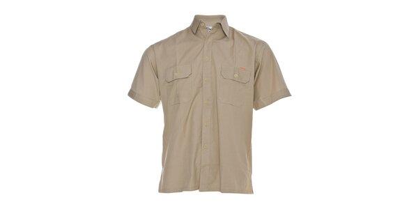 Pánská béžová košile Rejoice
