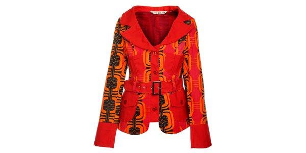 Dámský oranžový kabát od Savage Culture