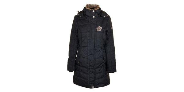 Dámský černý prošívaný kabát Northland