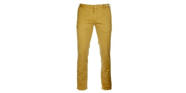 Pánské pískové chino kalhoty Tommy Hilfiger