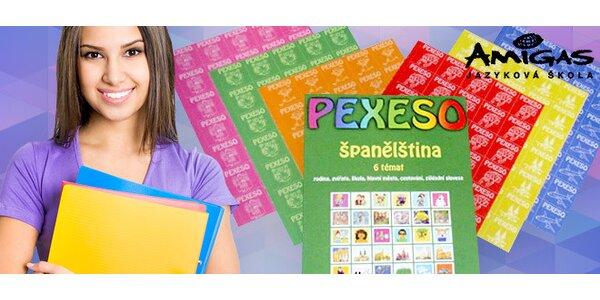 6 pexes pro výuku angličtiny nebo španělštiny