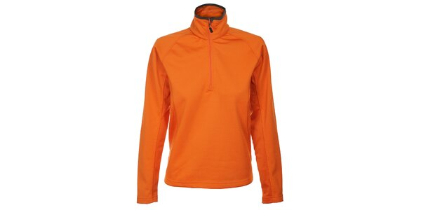 Dámská oranžová fleecová mikina Trimm Prada
