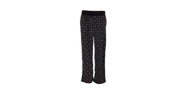 Dámské pyžamové kalhoty značky DKNY v tmavě šedé barvě