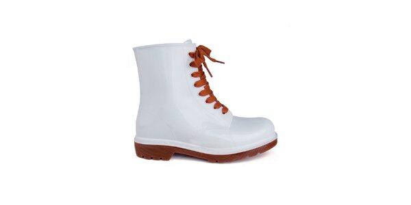 Dámské bílé boty Via Bellucci