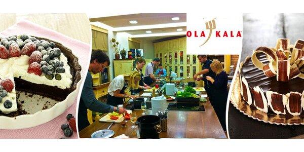 Kurzy vaření ve známé škole OLA KALA