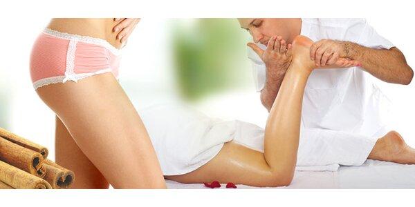 Masáž proti celulitidě a skořicový zábal