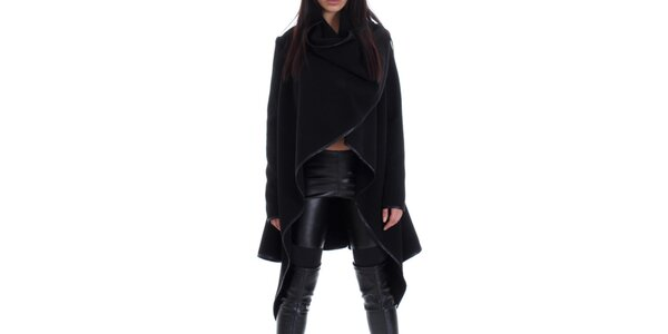 Dámský černý s páskem Caramella Fashion