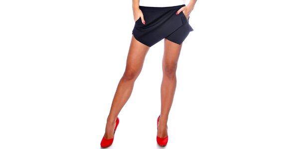 Dámské černé šortky Caramella Fashion