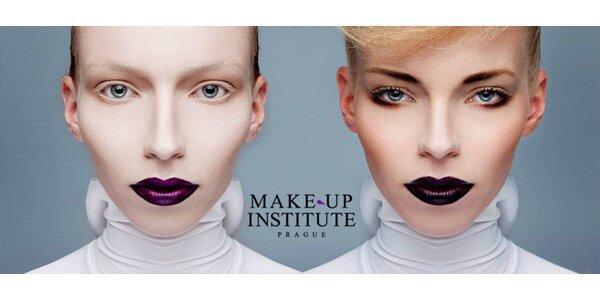 3 kurzy líčení v Make-Up Institutu Prague