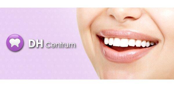 Vybělení zubů až o 8 odstínů + dentální hygiena