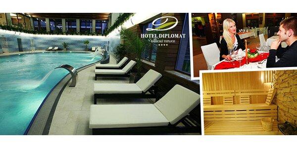 Romantický pobyt pro dva v luxusním hotelu na Slovensku