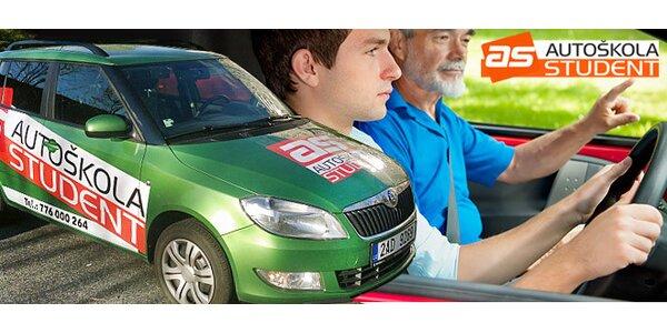 Řidičský průkaz sk. B - naučte se na jaře či v létě řídit