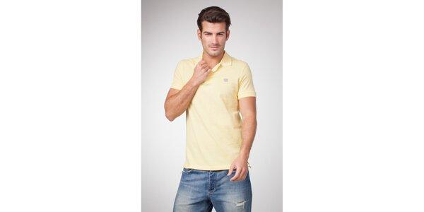Pánské světle žluté polo tričko Bendorff