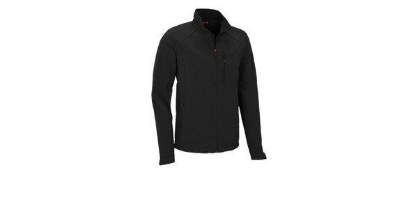 Pánská černá softshellová bunda Maier s membránou