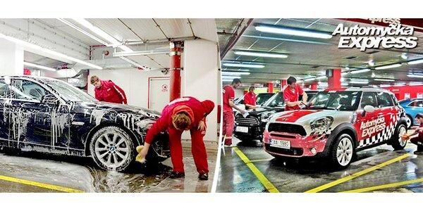 Pečlivé umytí vozidla od soli a dalších nečistot