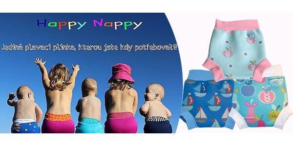 Populární funkční plavečky Happy Nappy NOVÉ MODELY 2014