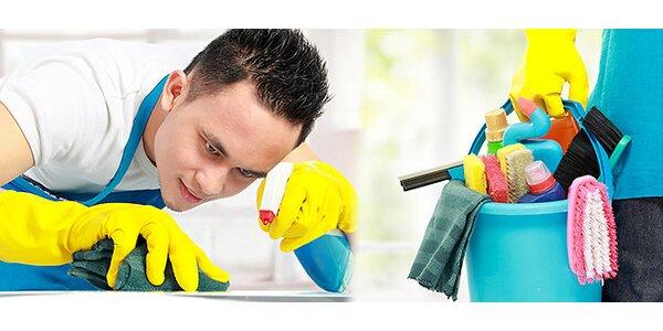 Pravidelný úklid vaší domácnosti