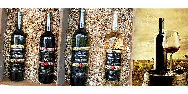 6 přívlastkových vín z moravského vinařství Kosík
