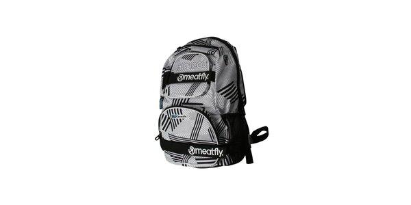 Světlý batoh značky Meatfly o objemu 25 litrů