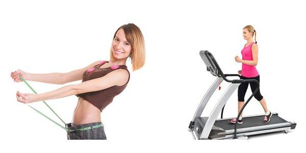 Zhubněte a zvyšte si kondičku na běžeckém trenažéru a vibroplošině 30 minut