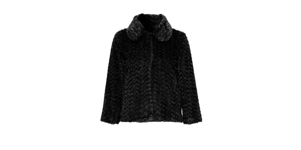 Dámský černý kabátek Iska