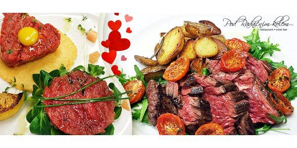 Valentýnská hostina v Restauraci Pod Radničním Kolem